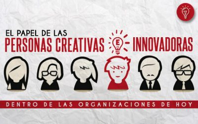 El papel de las personas creativas e innovadoras en las organizaciones de hoy.